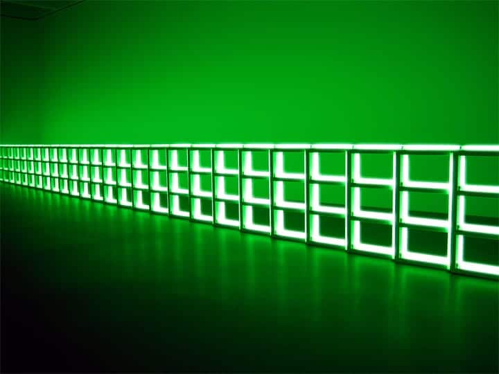 Dan Flavin Green Room