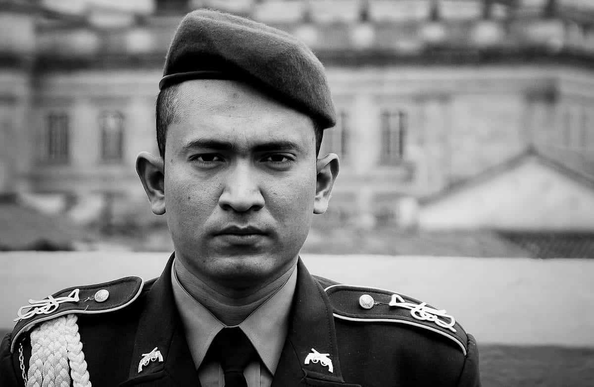 soldier bogota