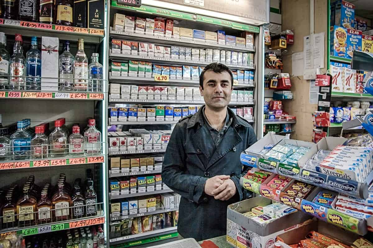 Clapham South Off Licence Guy