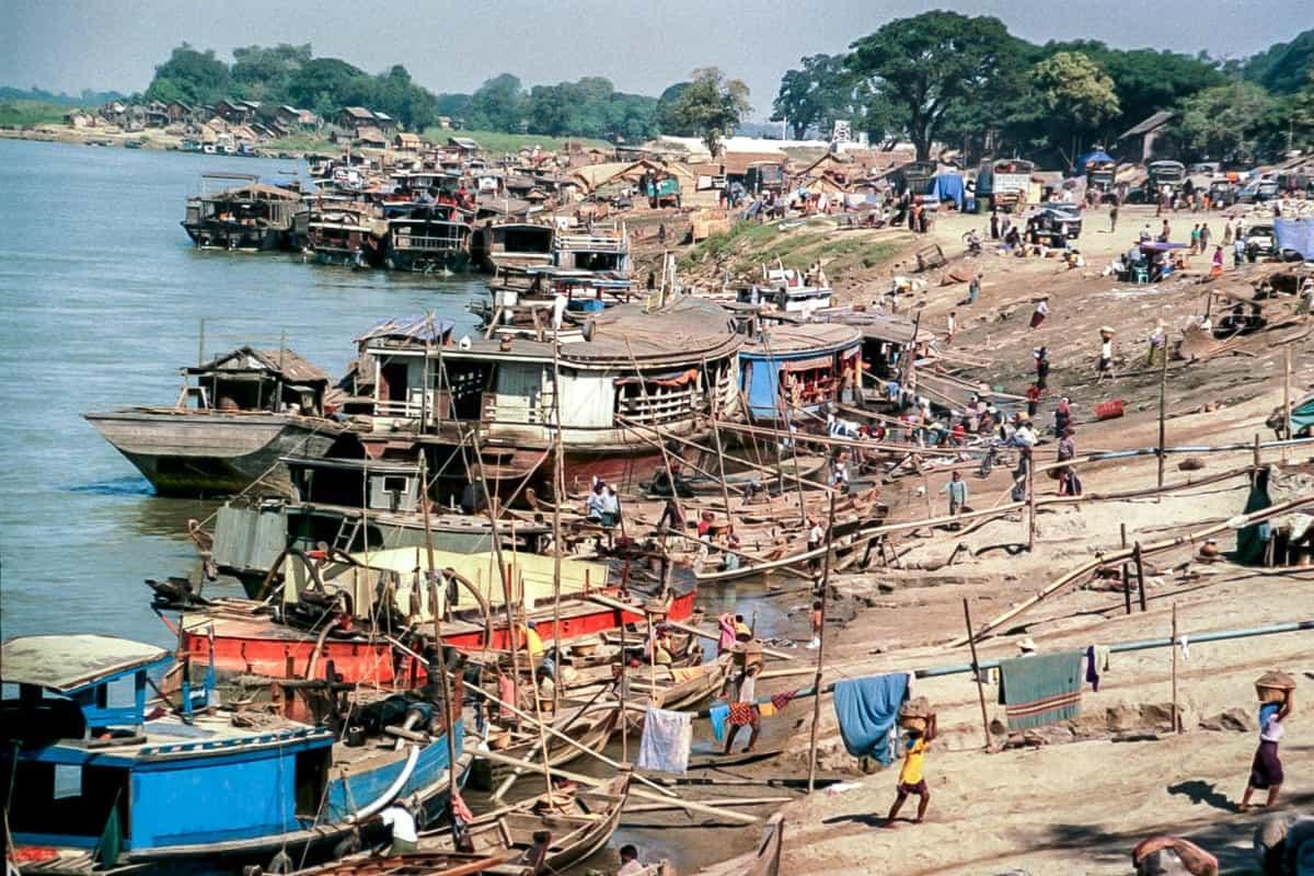 The Port of Mandalay