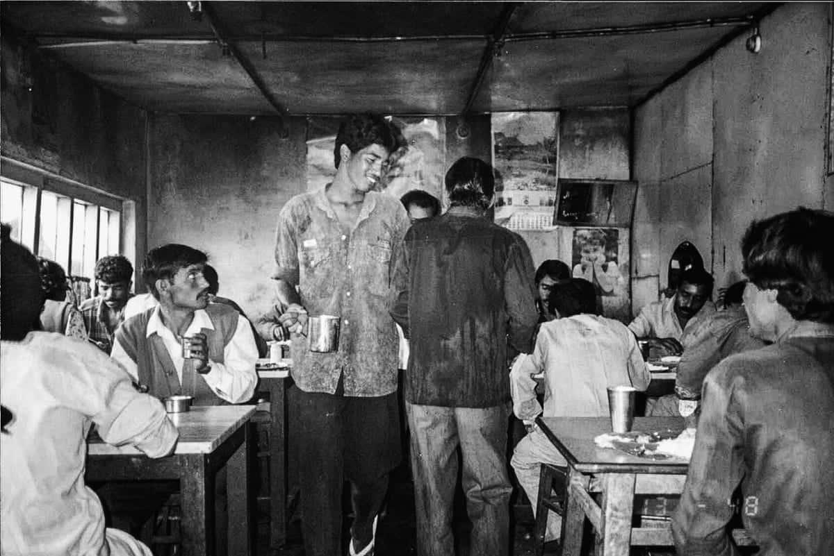 Indian Restaurant beginning of 90ies