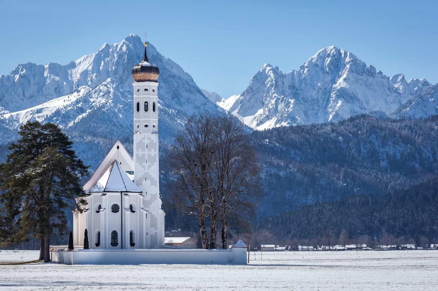 St. Coloman Church near Füssen