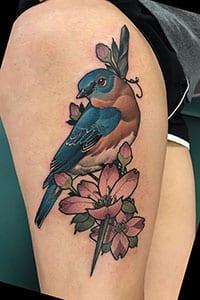 Bluebird Tattoo Meaning