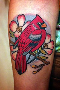 Cardinal Tattoo meaning