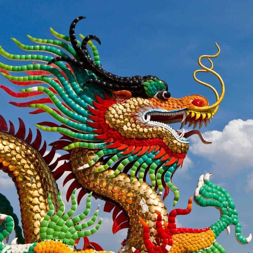 Dragon That Represent Wisdom