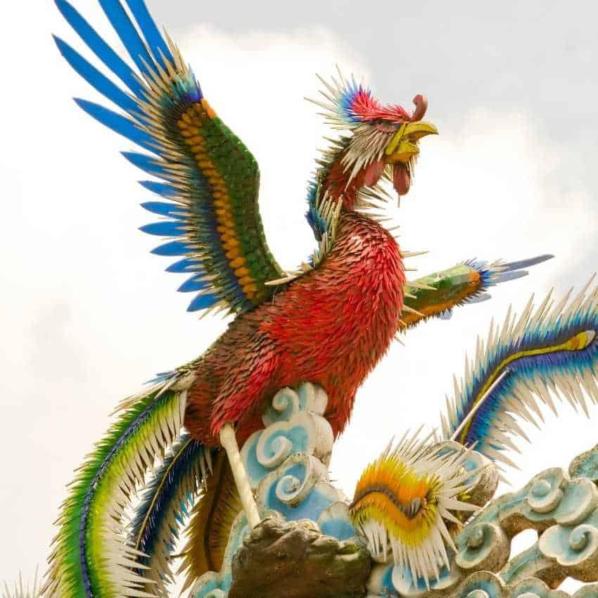 Phoenix represents fire