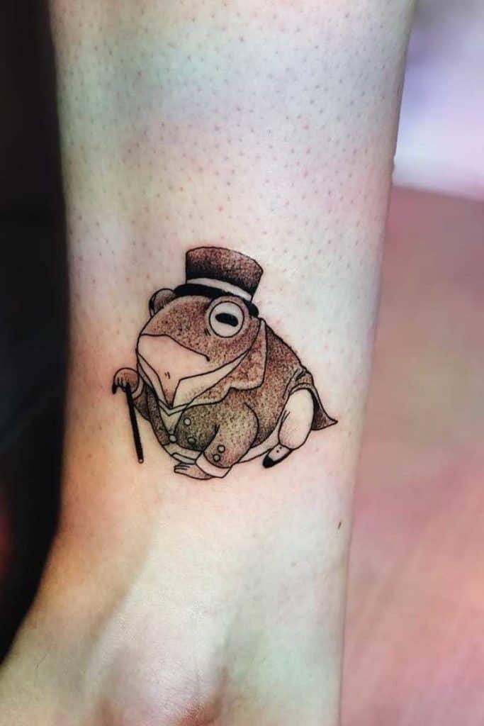 toad tattoo