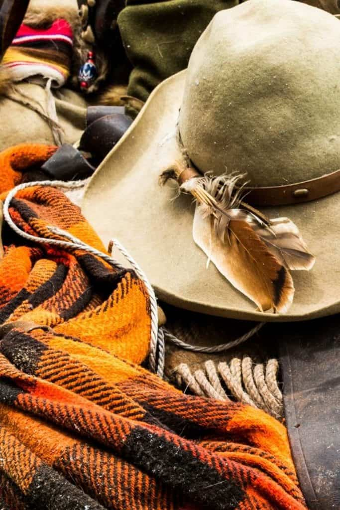 meaning turkey feather cowboy hat
