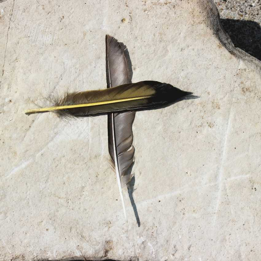 Feather meaning Christianity