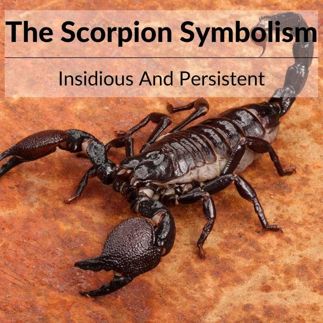 Scorpion symbolism
