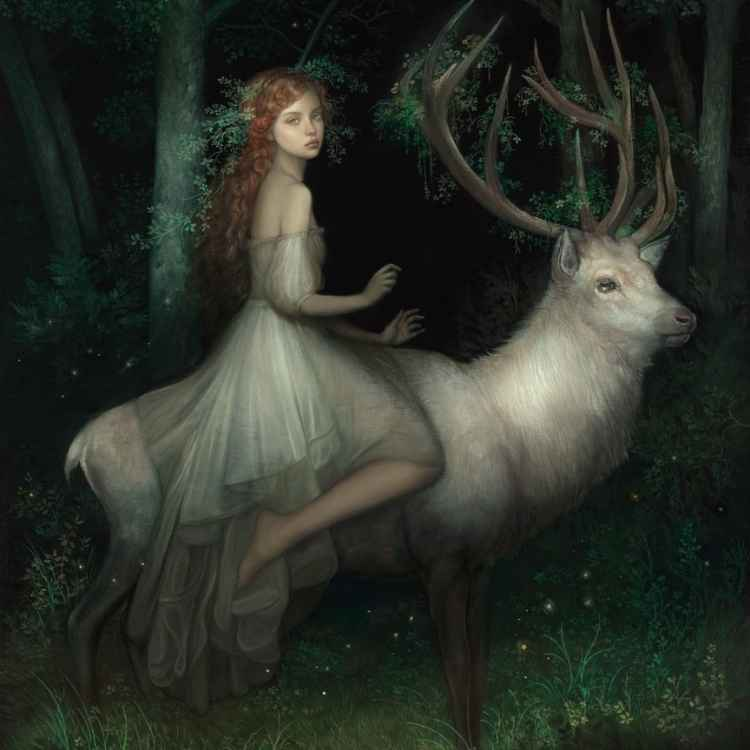 stag in Celtic culture
